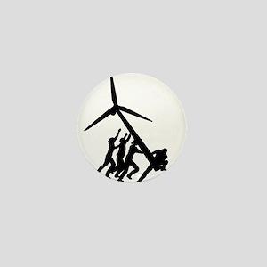 Energy Action Mini Button