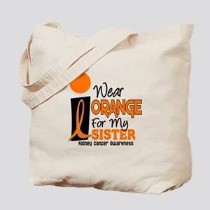 I Wear Orange For My Sister 9 KC Tote Bag