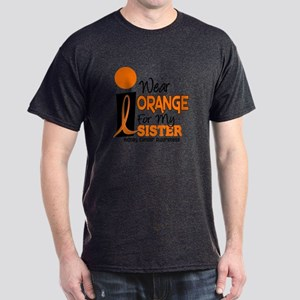 I Wear Orange For My Sister 9 KC Dark T-Shirt