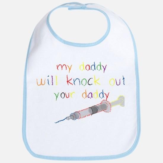 Knockout Daddy Bib