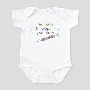 Knockout Daddy Infant Bodysuit