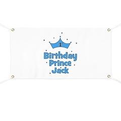 1st Birthday Prince Jack Banner