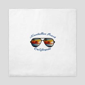 California - Manhattan Beach Queen Duvet