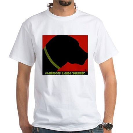 Black Lab Profile T-shirt w/Logo