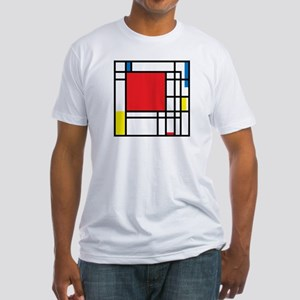 De Stijl Fitted T-Shirt