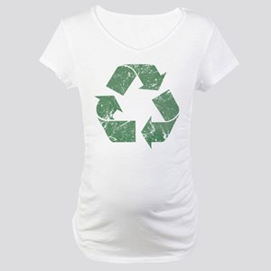 Vintage Recycle Maternity T-Shirt