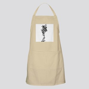 Books and Bones BBQ Apron