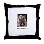 BAH HUMBUG HUMOROUS Throw Pillow
