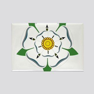 House of York Rectangle Magnet