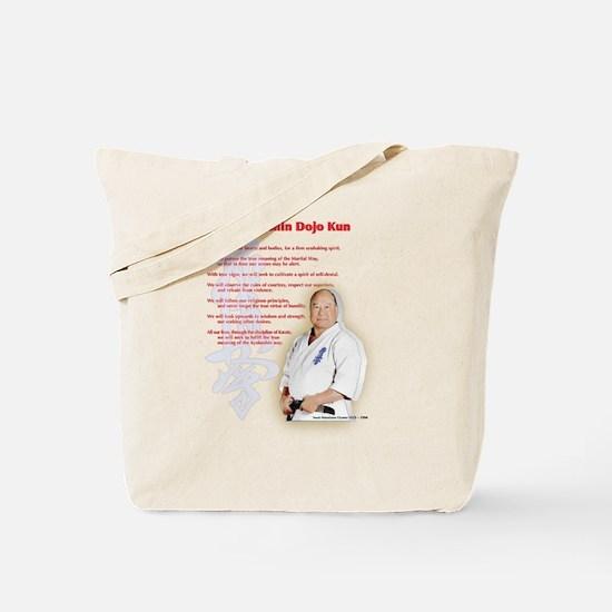 Kyokushin Dojo Kun Tote Bag