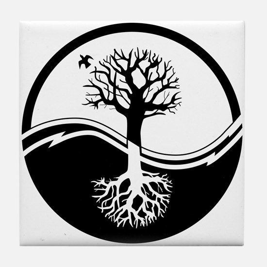 Reiki Tree Tile Coaster