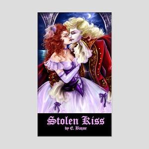 Stolen Kiss Rectangle Sticker
