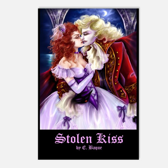 Stolen Kiss Postcards (Package of 8)