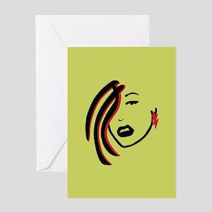 Sneer Greeting Card