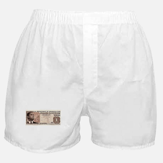 The Obama Food Stamp Boxer Shorts