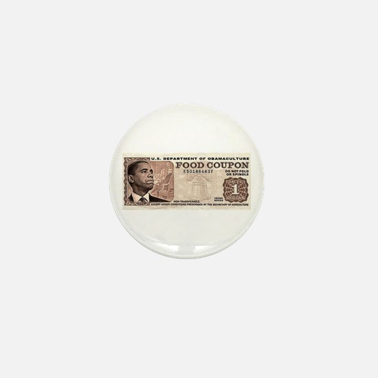 The Obama Food Stamp Mini Button (10 pack)