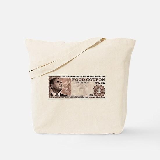 The Obama Food Stamp Tote Bag