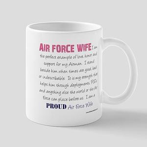 I Am..r Force Wife Mug