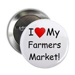 "Heart Farmers Market 2.25"" Button (10 pack)"
