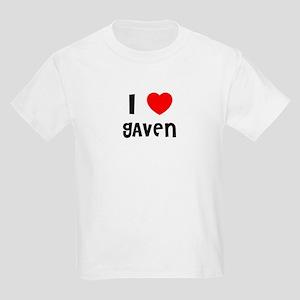 I LOVE GAVEN Kids T-Shirt