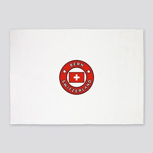 Bern Switzerland 5'x7'Area Rug