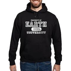 Earth University Property Hoodie (dark)
