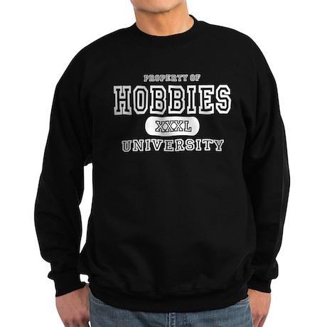 Hobbies University Sweatshirt (dark)
