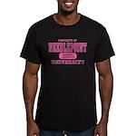 Needlepoint University Men's Fitted T-Shirt (dark)