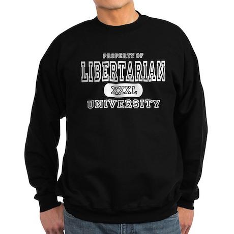 Libertarian University Sweatshirt (dark)