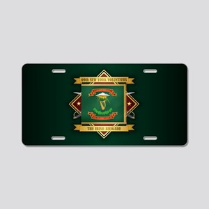 69th NY Volunteer Infantry Aluminum License Plate