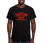 Temptress University Men's Fitted T-Shirt (dark)