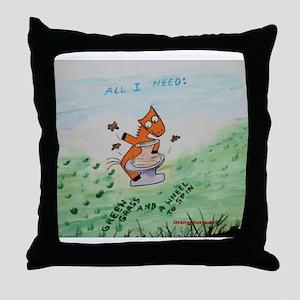 Potter's Throw Pillow
