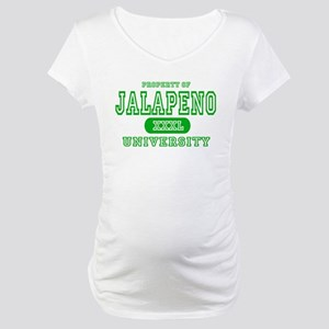 Jalapeno University Pepper Maternity T-Shirt