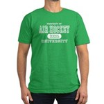 Air Hockey University Men's Fitted T-Shirt (dark)
