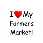Heart Farmers Market Postcards (Package of 8)