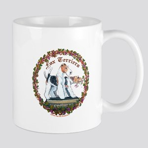 Fox Terrier Trouble Mug