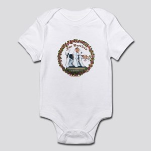 Fox Terrier Trouble Infant Bodysuit
