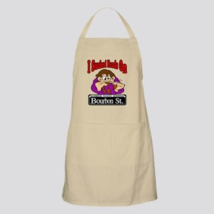 Sucked Heads On Bourbon St. BBQ Apron