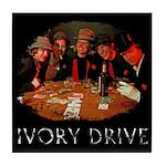 Ivory Drive Tile Coaster