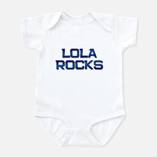 lola rocks Infant Bodysuit
