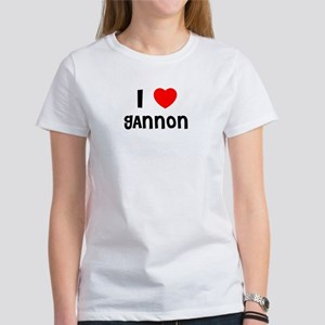 I LOVE GANNON Women's T-Shirt