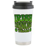 Irish Drinking Team Stainless Steel Travel Mug