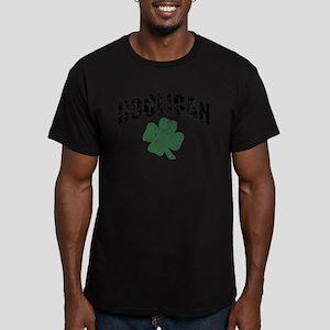 Hooligan Distressed Men's Fitted T-Shirt (dark)