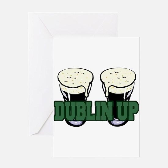 Dublin Up Greeting Card