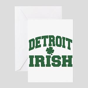 Detroit Irish Greeting Card