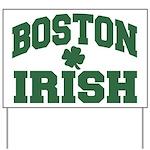Boston Irish Yard Sign