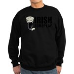 Irish Foreplay Beer Sweatshirt (dark)