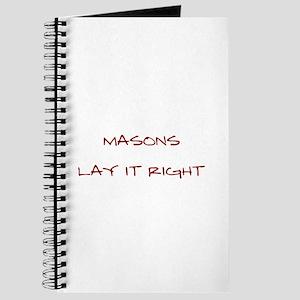 Masons... Journal