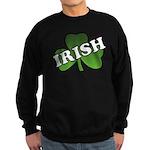 Green Shamrock Shamrock Sweatshirt (dark)