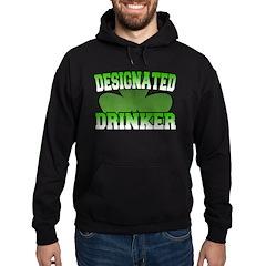 Designated Drinker Hoodie (dark)